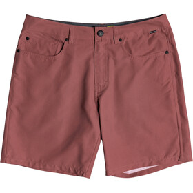 Quiksilver Nelson Surfwash Amphibian 18 Shorts Men apple butter
